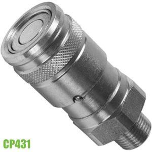 """CP431 Khớp nối đầu cái không rĩ dầu, ren ngoài 3/8"""" NPT"""