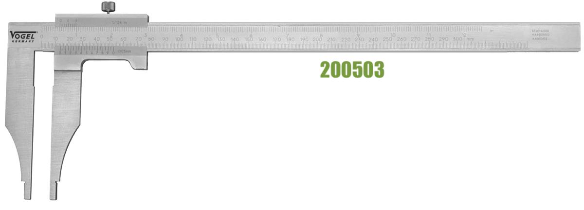 Thước cặp cơ khí ngàm cặp đơn 2005 series Vogel Germany