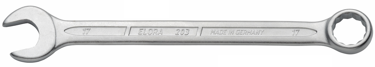203 cờ lê vòng miệng chuẩn DIN 3113A - Elora Germany