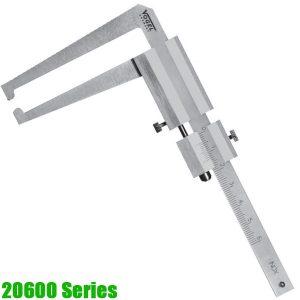 20600 Series Thước kẹp đo độ dày phanh đĩa, 0-90m, loại điện tử