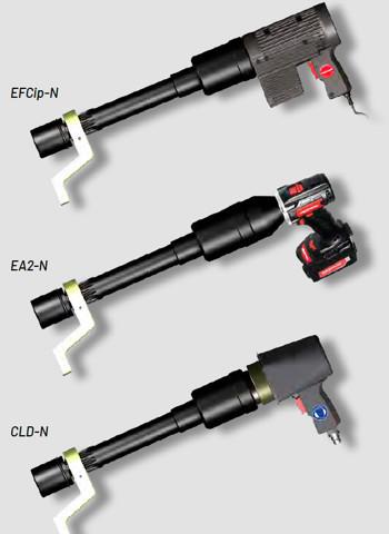 3 biến thể của bộ nhân lực đầu dài Alkitronic