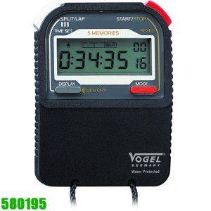 580195 Đồng hồ bấm giờ, chống thấm nước IP54, sản xuất tại Đức