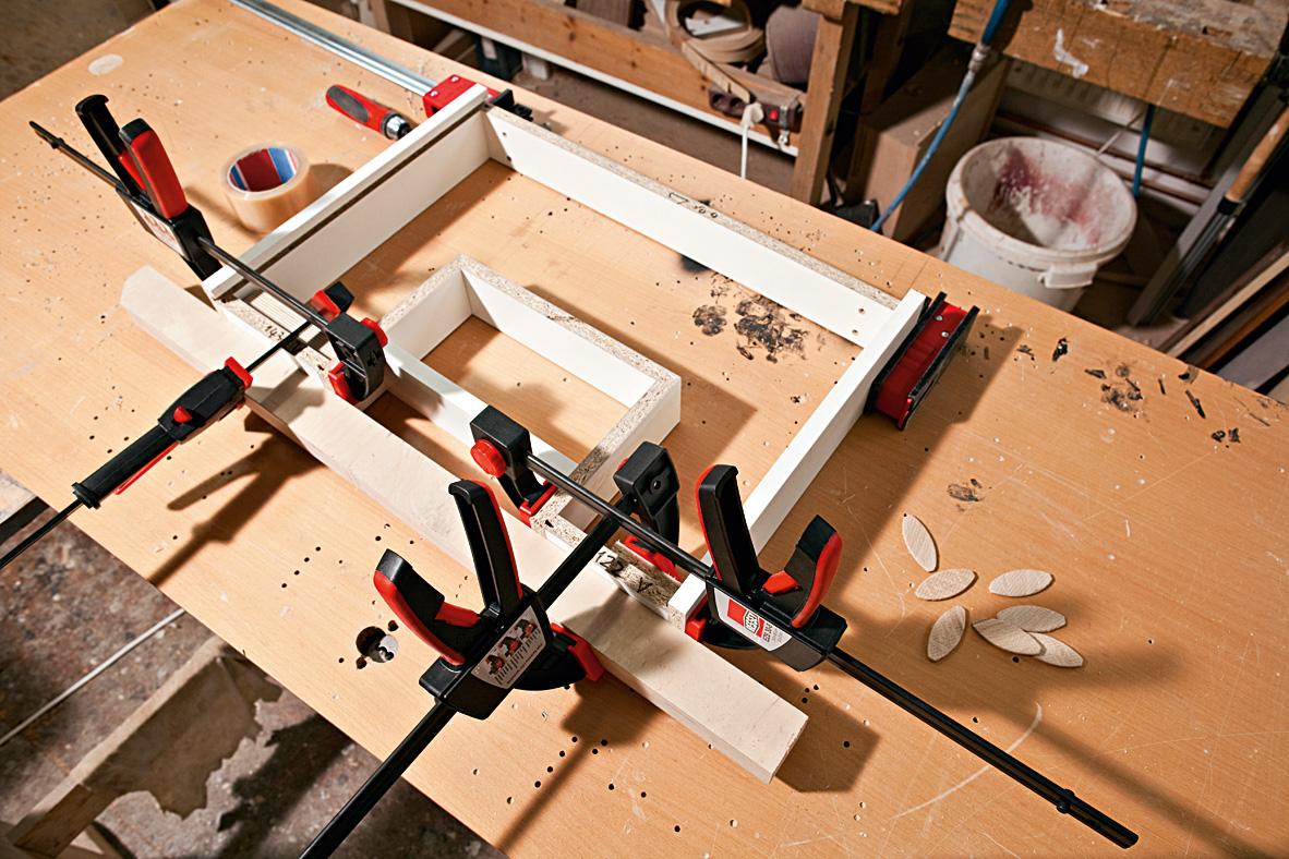 EZS Series Cảo kẹp gỗ chữ C 150-900mm 2 ngàm trong ngoài 3