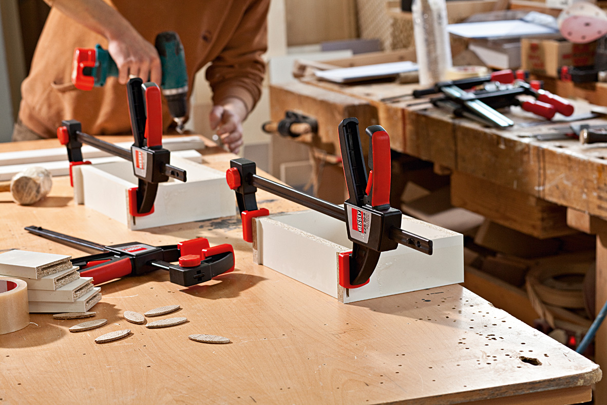 EZS Series Cảo kẹp gỗ chữ C 150-900mm 2 ngàm trong ngoài 4