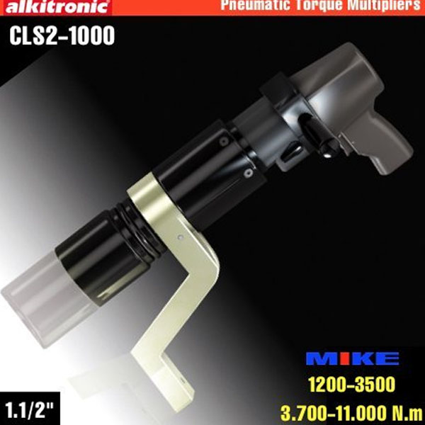 CLS2-1000 Bộ nhân lực bằng khí nén 2 cấp, momen 11000Nm