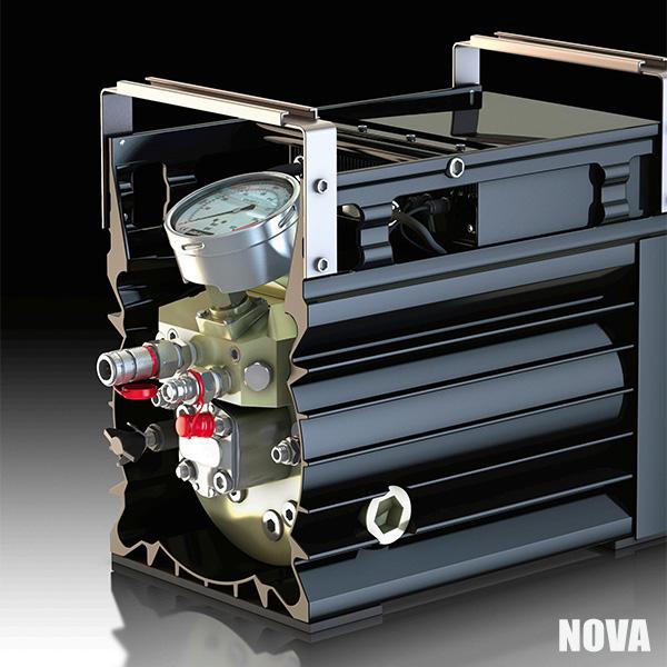 nova electric hydraulic pump