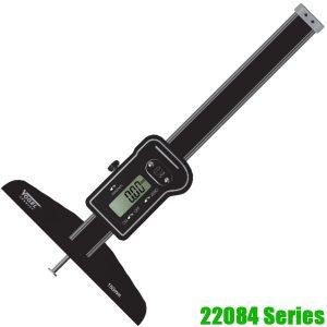 22084 Series Thước đo sâu điện tử 200-800mm, chính xác 0.01mm, sxtại Đức