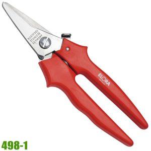 498-1 Kéo inox mũi thẳng 140mm