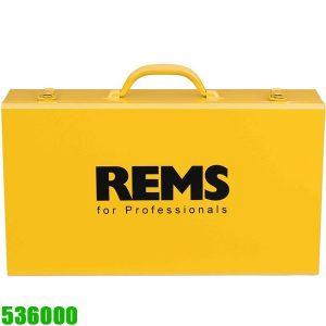 536000 Vali đựng máy tiện ren REMS Amigo, thùng rỗng sơn tĩnh điện.