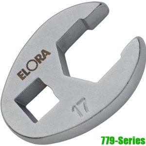"""779-Series Đầu rời cờ lê lực, cần tự động 10-19mm, vuông 3/8"""". ELORA"""
