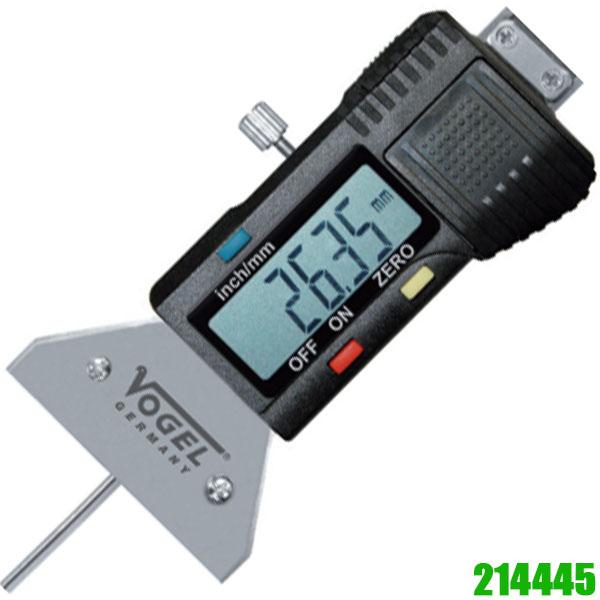 214445 Đồng hồ điện tử đo gai vỏ xe, lốp xe 0 - 25mm