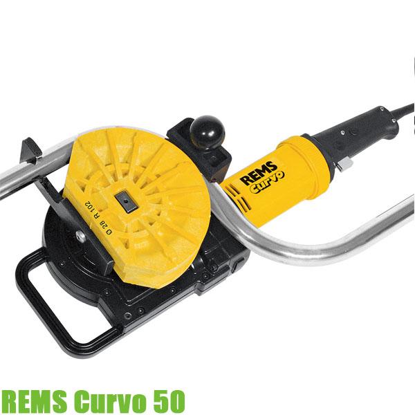REMS Curvo 50 Máy uốn ống inox chạy điện, cầm tay