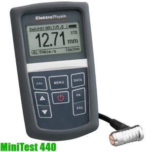 MiniTest 440 Máy đo độ dày kim loại xuyên lớp phủ – đo thành ống