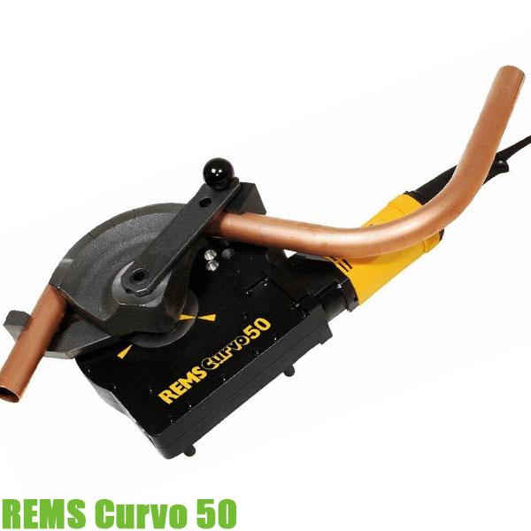 REMS Curvo 50 Máy uốn ống đồng chạy điện, cầm tay