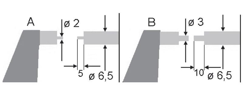 2328 bản vẽ kích thước panme đo ngoài điện tử 0-50mm Vogel