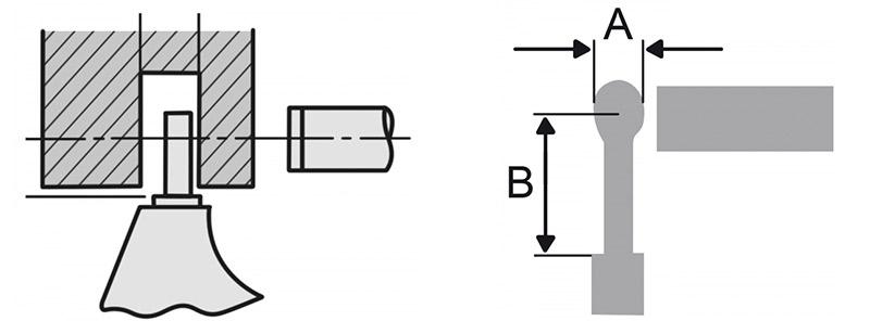 232813 bản vẽ kích thước panme điện tử đo ngoài 0-25mm