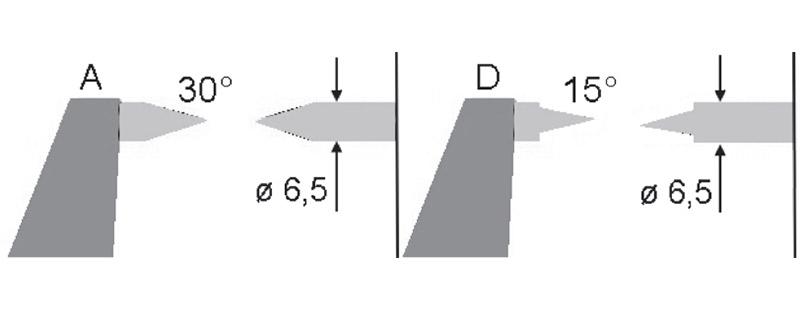 2329 bản vẽ kích thước panme đo ngoài điện tử 0-25mm Vogel