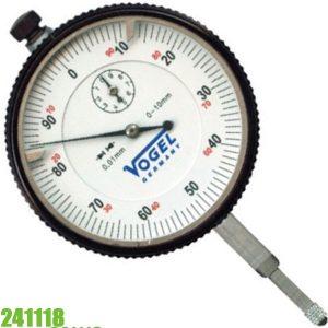 241118 Đồng hồ so cơ 0-10mm, độ chính xác 0.01mm