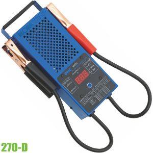 270-D máy kiểm tra bình ắc quy xe ô tô
