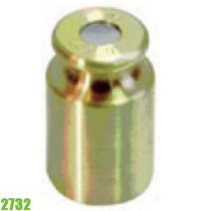 2732 Quả cân chuẩn 100g đến 5 kg, vật liệu đồng thau.