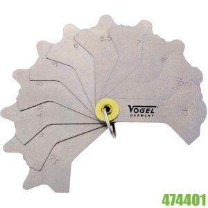 474401 Thước đo mối hàn Vogel