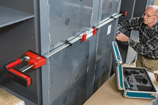 KREV Vario K Body REVO parallel clamp 2