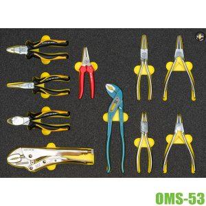 OMS-53 bộ dụng cụ 10 món ELORA