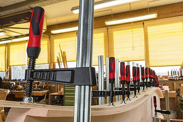 TGK-2K Heavy duty screw clamp with 2K plastic handle 2