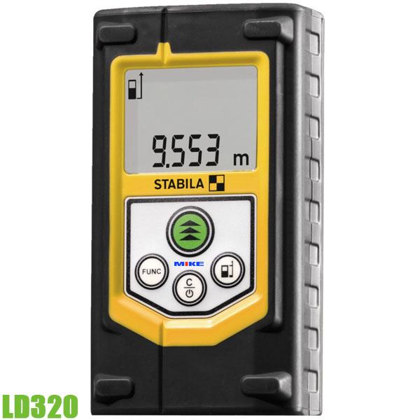LD320 máy đo khoảng cách bằng laser 60m, cấp bảo vệ IP54