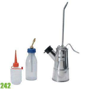242 Bình bơm dầu bằng nhựa và kim loại 60-250ml. ELORA Germany