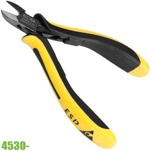 4530- kìm cắt linh kiện đầu bo tròn độ cứng lưỡi cắt 61-63 HRC