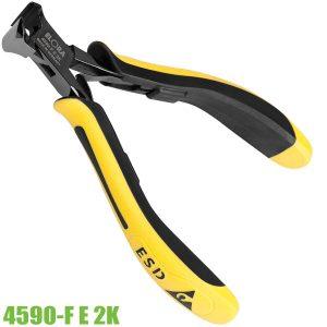 4590-F E 2K kìm cắt linh kiện chống tĩnh điện mũi vát lệch 13 độ
