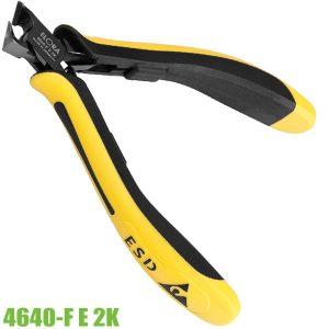 4640-F E 2K kìm cắt chân linh kiện điện tử mũi cắt vát lệch 27 độ