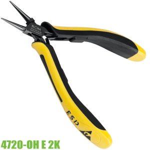 4720-OH E 2K kềm chống tĩnh điện ESD loại đầu nhọn lưỡi trơn