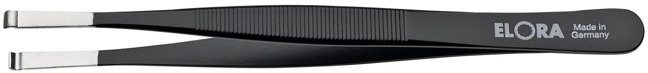 5170-STE nhíp gắp linh kiện chống tĩnh điện mũi khắc rãnh oval Ø 0,8mm