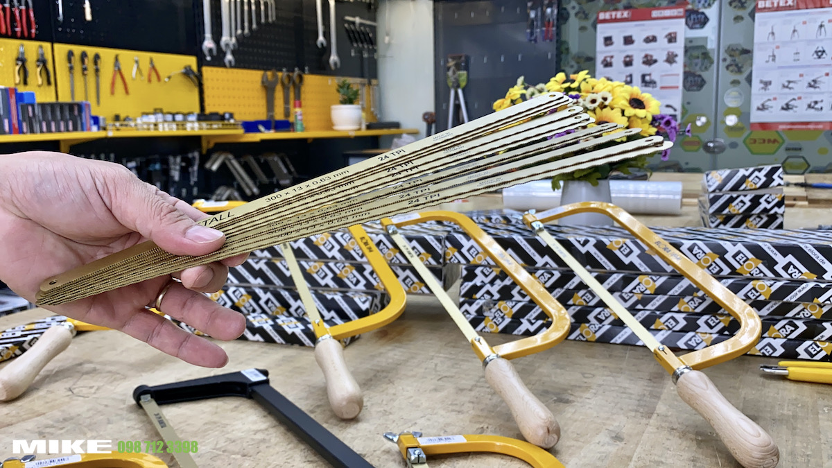 Lưỡi cưa sắt dự phòng bằng thép gió HSS phủ Titan - Elora Germany