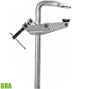 GRA Kẹp chữ F cho ngành hàn 300-1000mm, tay quay phía sau lưng