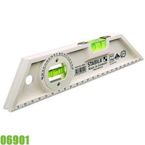 06901 Thước thủy 25cm, độ chính xác ± 1.0 mm/m. Stabila
