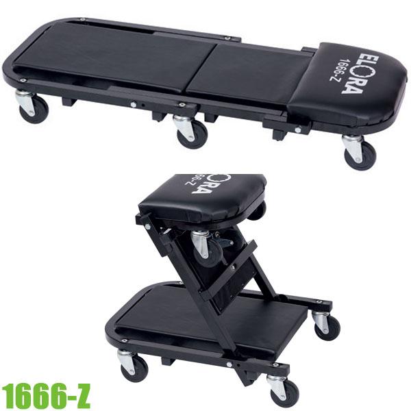 1666-Z Xe nằm sửa gầm ô tô, có thể chuyển đổi thành ghế ngồi