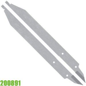 200891 Ngàm kẹp cho thước đo 125mm bằng thép
