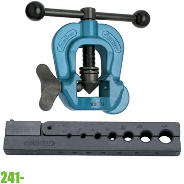 241- Bộ loe ống đồng Ø4-19mm. ELORA Germany