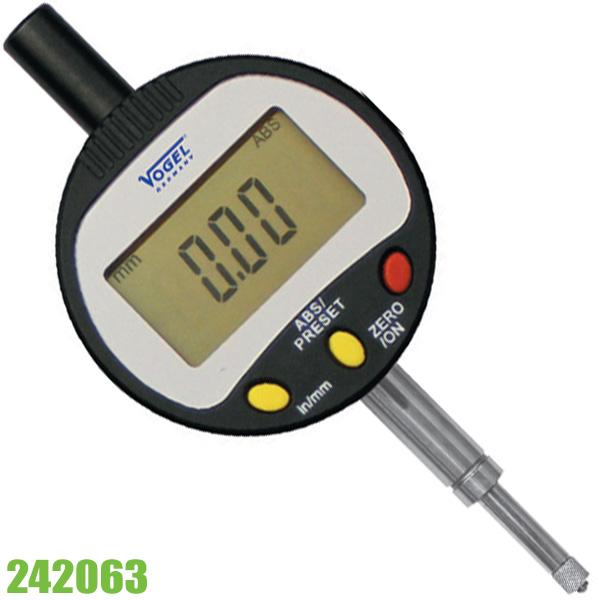 242063 đồng hồ so điện tử, thang đo 0 - 12.7mm