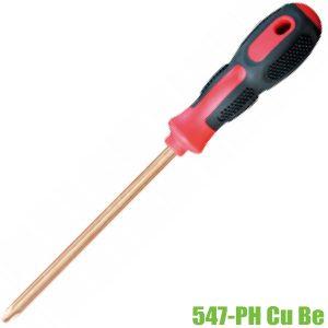 547-PH Cu Be tua vít 4 cạnh chống cháy nổ PH0-PH4