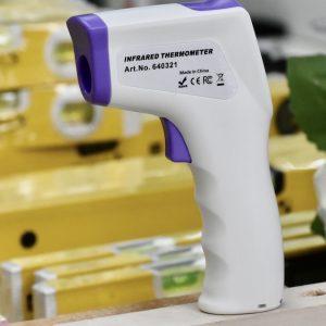 Không chỉ dùng cho con người, nó còn được dùng đo nhiệt độ phòng, nhiệt độ bề mặt