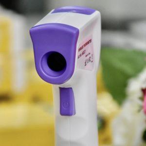 Máy đo nhiệt độ cơ thể từ xa, hồng ngoại, chuyên dụng