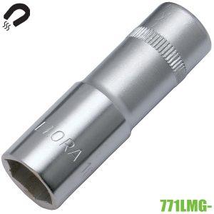 71LMG- đầu tuýp 6 cạnh mở bugi có từ tính vuông 1/2 inch