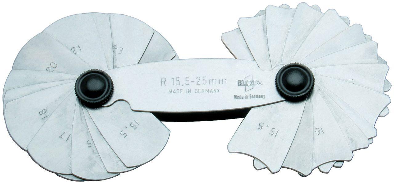 842- dưỡng đo đường kính 15-17 lá Elora