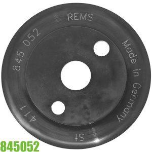 845052 Lưỡi dao cắt ống bằng Thép cho máy cắt ống REMS