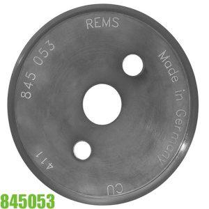 845053 Lưỡi dao cắt ống bằng Đồng, phụ kiện cho máy cắt ống REMS