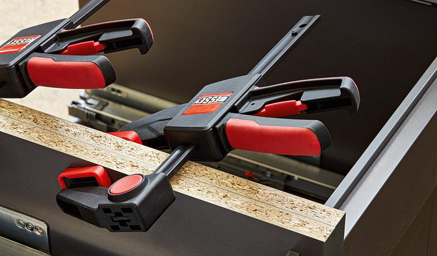 EZXL45-9 Cảo kẹp gỗ chữ F 450mm kiểu bóp thả 2